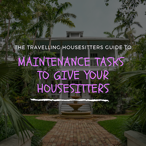 6 Potential Maintenance Tasks For House Sitters