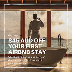 $45 AUD Airbnb Credit