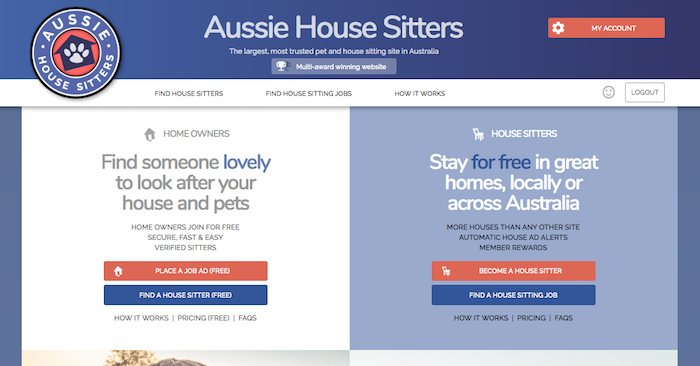 Aussie House Sitters House Sitting Site Review