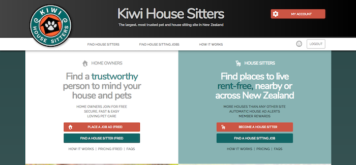 Kiwi House Sitters House Sitting Website Review