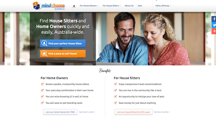 Mindahome Housesitting Site Review