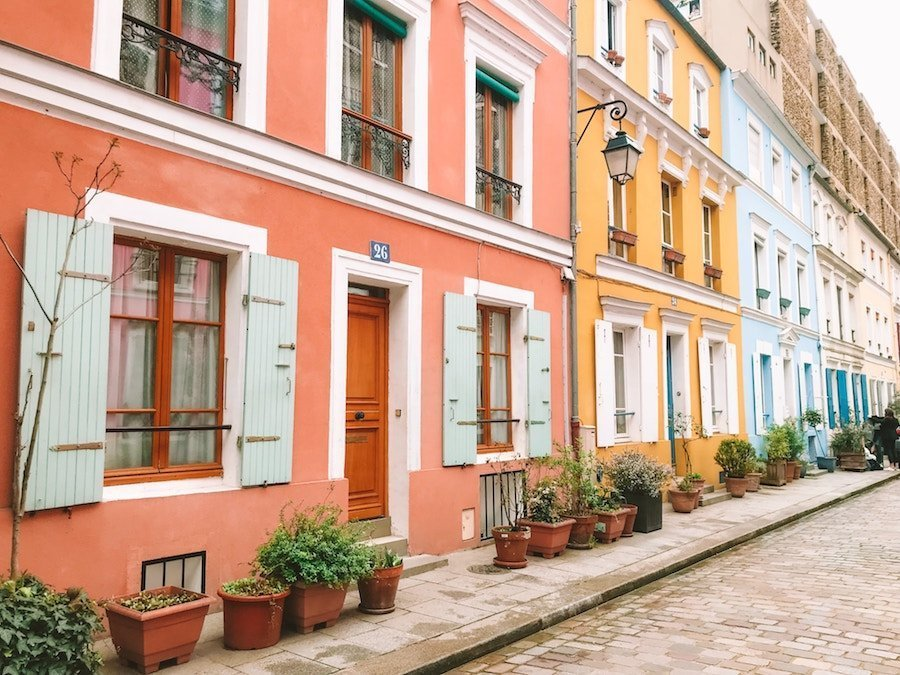 The Prettiest Streets of Paris