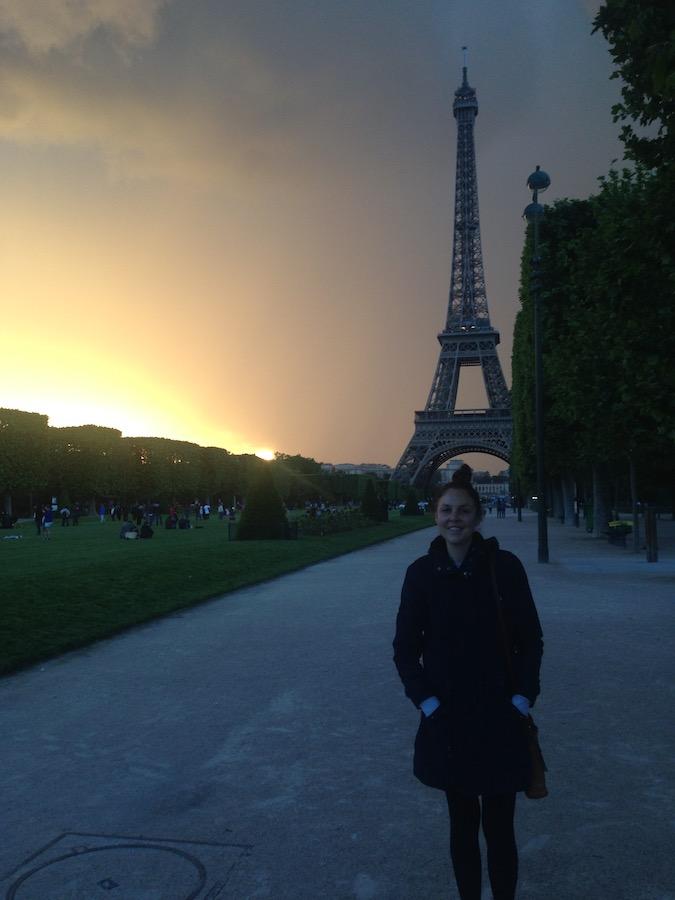 Britt in Paris, France