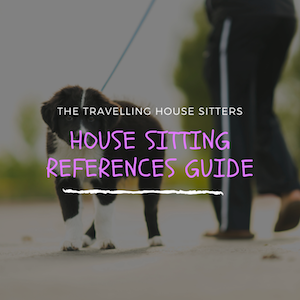 House Sitting References