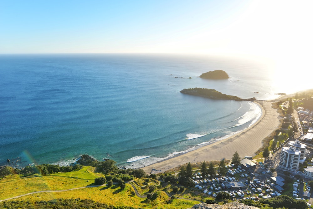 House sitting in New Zealands Mount Manganui