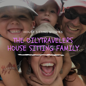 House Sitting Family
