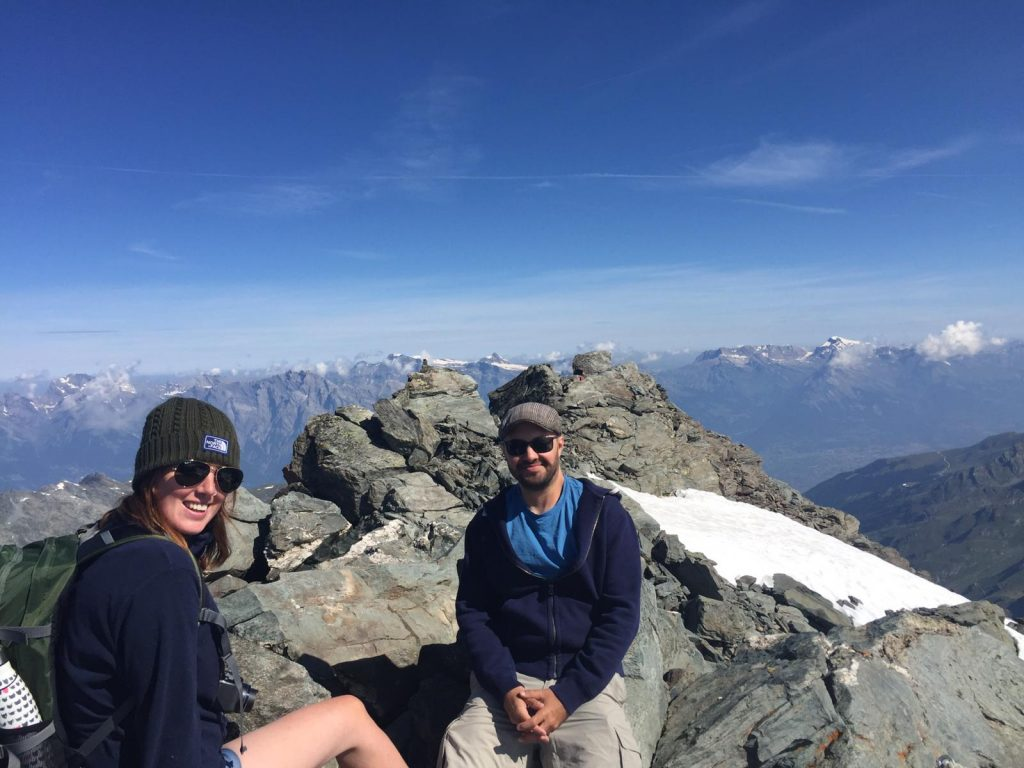 Amy and Jordan in Switzerlandc